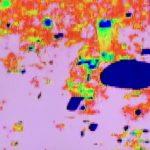 熱帯夜をサーモグラフィで映すと分かった放熱の原因。東京ドーム周辺は熱々!アスファルト、自動車、室外機は真っ赤。他に熱いもの、意外に冷たいものは?